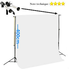 Caruba Heavy Duty Background Kit Pro2 Pour rouleaux