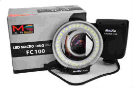 flash annulaire macro fc100 meike