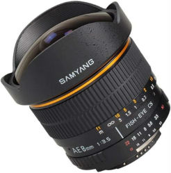 Samyang 8mm F3.5 Sony Fish-eye E-System VG-10/20/30 Edition