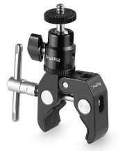 SmallRig 1124 Clamp Mount+ball head